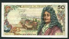 1967 France 50 Francs (VF+) <P-148c> 'Rare'