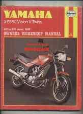 Nueva Visión De Yamaha XZ550 (1982-on) libro Manual de taller Haynes Xz 550 R RJ RK 11U
