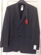 NEXT GREY SUIT JACKET 44R 112cm EUR 56 Wool plus Lycra BNWT
