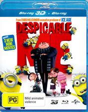 Despicable Me 3D Blu-ray Region B Brand New!