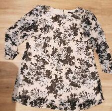 Atmosphere Primark Floral Chiffon Dress Size 20