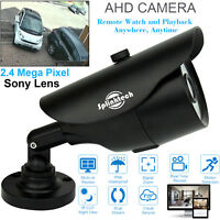 Sony 1080p Full HD 2.4MP CCTV Bullet Camera AHD Analog Outdoor Day/Night Vision