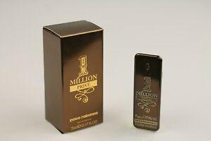 PACO RABANNE 1 MILLION PRIVÉ miniature perfume / mini bottle Eau Parfum 5 ML