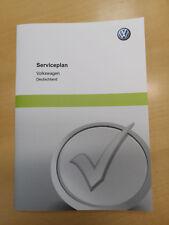 VW PKW Original Serviceheft Serviceplan Scheckheft DEUTSCH **NEU** 3G0012701SC