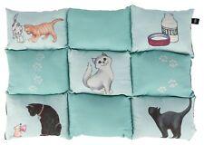 Patchwork Blanket Cat 70 × 55 Cm MINT - Trixie Cats Cover Pet Cushions