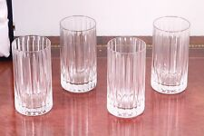 Faberge Parallel High Ball Glasses ~ Set of Four ~ New in Box!
