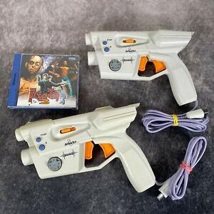 The House Of The Dead 2 + InterAct Starfire Light Guns SEGA Dreamcast Bundle