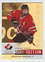 (56297) 2014-15 UPPER DECK TEAM CANADA JUNIORS BRENDAN PERLINI SPECIAL ED. GOLD