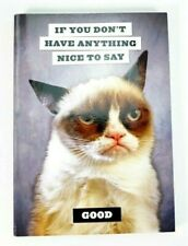 Grumpy Cat Journal Notebook Writing Bts Music Note Daily Planner Diaries Letters