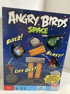 NEW SEALED Angry Birds Space Planet Block Version Mattel Games