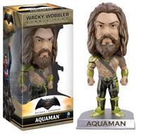 Aquaman Jason Momoa Bobblehead Funko pop Wacky Wobbler Batman vs Superman Figure