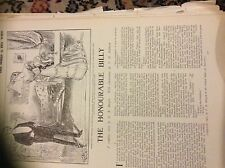 m12g ephemera 1907 short story the honourable billy g b burgin t h robinson