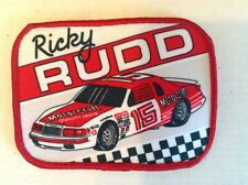NASCAR 1985 Ricky Rudd Bud Moore Racing Motorcraft Ford Thunderbird Patch Mint