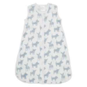 aden and anais 1.0 tog classic sleeping bag - waverly pup-large 12-18 mth