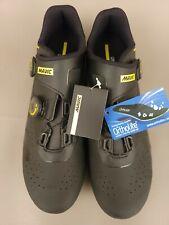 Mavic Cosmic Pro  Road Bike Shoe Black/Yellow Size US 11 EUR 45 1/3 NOS