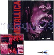 "METALLICA ""LIVE 1994"" RARE CD MADE IN ITALY - SEALED"