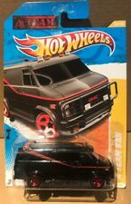 Hot wheels A Team Van Long Card