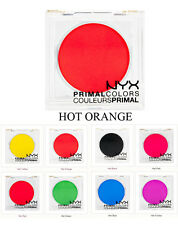 NYX Eyeshadow HOT ORANGE PC06 Primal Colors Pressed Pigments Theatrical Makeup