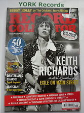 RECORD COLLECTOR MAGAZINE - Issue 376 June 2010 - Keith Richards / Buddy Holly