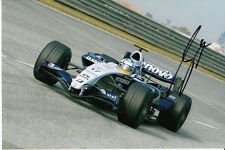 Alex Wurz Hand Signed AT&T Williams Photo 9x6 2.