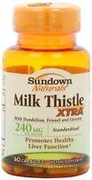 Sundown Milk Thistle Xtra Capsules 60 ct