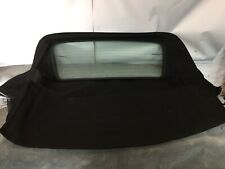 BMW E46 HOOD/ROOF WITH GLASS REAR WINDOW 2000 - 2007 - BLACK MOHAIR RRP £693