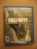 Call of Duty: Black Ops Declassified PS VITA Sony PlayStation PSVITA COMPLETE