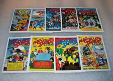 DC JUSTICE LEAGUE CHASE / INSERT CARD SET      -    ALL STAR COMICS    -