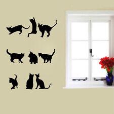 Heiß! Katzen Quote Wandaufkleber Wohnzimmer Dekor Wandtattoo Wandsticker DIY 60