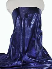 """SATIN LAME FABRIC ROYAL  45"""" COSTUME PAGEANT THEATER DECOR DANCE (close out)"""