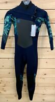 O'neill Original Ladies Wetsuit 3/2 Women's Chest Zip Full Length Wetsuit GBS