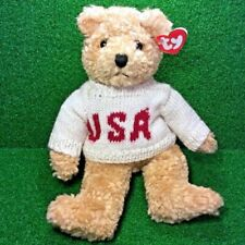 1992 2nd Gen Ty Baby Curly Gold Teddy Bear Classic Plush Vintage T62