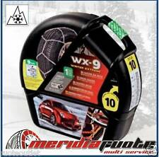 "CATENE DA NEVE ""WX-9 SNOWDRIVE WINTER EXTREME"" *GR.9,7* 9MM OMOLOGATE VW SHARAN"