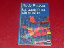 [BIBL.H.& P-J.OSWALD] RUDY RUCKER / LA QUATRIEME DIMENSION 1985