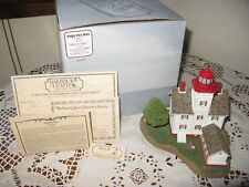 Harbour Lights Collectible Lighthouse Yaquina Bay Ore #204 w/Box 6454/9500 1997