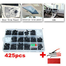 425x Trunk Screw Rivets Car Accessorie Bumper Fender Plastic Fastener Clips