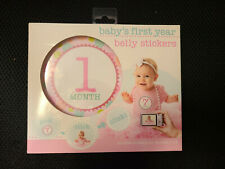 Stepping Stones Baby's First Year Belly Stickers New Girl