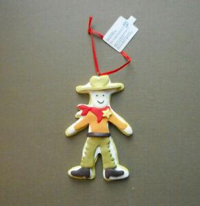 Dept 56 Cowboy Cookie Christmas Ornament
