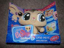 "LPS Littlest Pet Shop  Plush Stuffed Animal Hasbro 10"" 2007 VIP CODE"