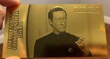 Star Trek  Insurrection GOLD CARD G-3 G3 Lieutenant Commander Data 187/400