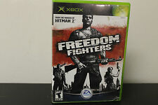 Freedom Fighters (Microsoft Xbox, 2003) *Tested / Complete
