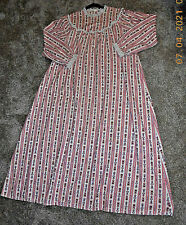 Vintage Lanz of Salzburg Soft Warm Flannel Nightgown Large
