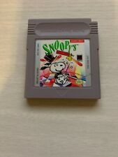 Snoopy's Magic Show Nintendo Gameboy GB Cart Only GREAT Shape Game Boy Original