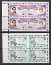 1981 Royal Wedding Charles & Diana MNH Stamp Set Seychelles SG 512-513a