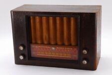 NATIONAL Very Rare Vintage Magma Super Vacuum Tube Radio From Japan # 2018 0808