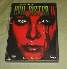 EVIL SISTER 2 - Bound By Blood [NEW] DVD Brad Sykes