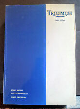 Triumph Tiger 955cc Fuel Injected Engine PN 3857017 Issue 1 Service Manual -AB8