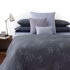 NIP Calvin Klein Kent Uniform Gray/Blue Twin Duvet Cover & Sheet Set 5pc