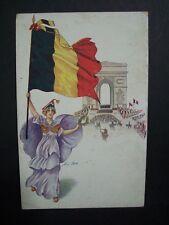 """CPA  - Illustrateur : Xavier SAGER  - série 134  """" Jour de Triomphe """"  CP 714"""