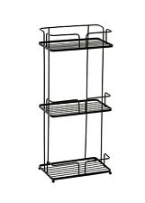 Esquire Freestanding 3 Tier Floor Caddy/Shelf & Storage Rack No Drill.